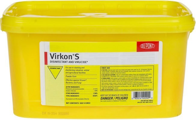 Antiviral-Antibacterial Disinfectants Virkon S